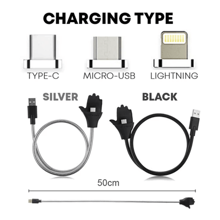 Lazy Stand Up Charge Cable summertwinkle