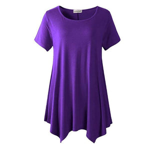 Loose fit Dress T-shirt summertwinkle purple S