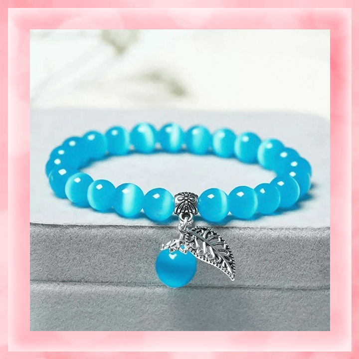 Tiger's Eye Bracelet summertwinkle blue