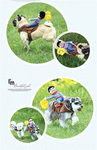 Funny Cowboy Dog Costumes summertwinkle