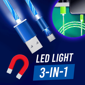 3 in 1 LED Magnetic Cable summertwinkle