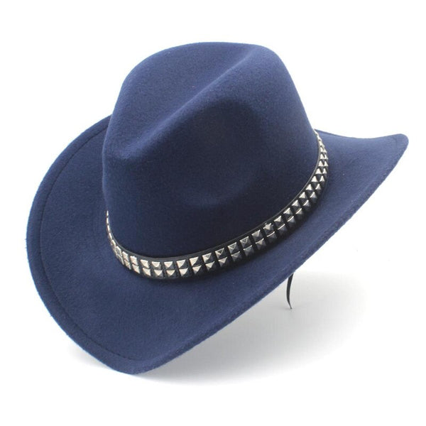 Wool Wide Brim Western Hat Available in Nine Colors