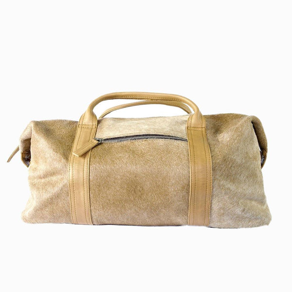 Genuine Leather Voge Weekender in Five Color Combinations