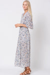 Light Maxi Dress in floral Prints