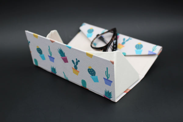 Cactus Glasses Case - Potted Cactus