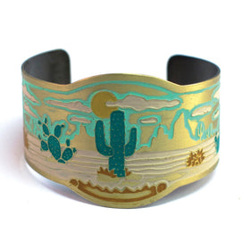 Handpainted Desperado Cuff