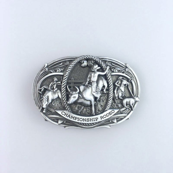 Western Rodeo Championship Belt Buckle