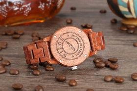 Handcrafted Kosso Wood Watch