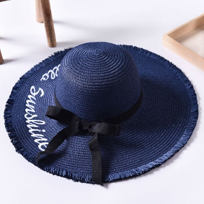 Weave Sun Hat in Eight Colors