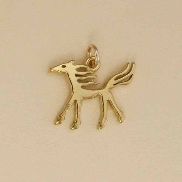 Ancient Horse Image Charm
