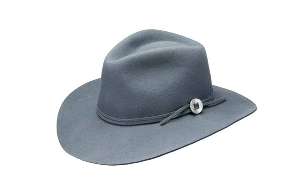 Texas Wool Wide Brim Hat in Bluestone