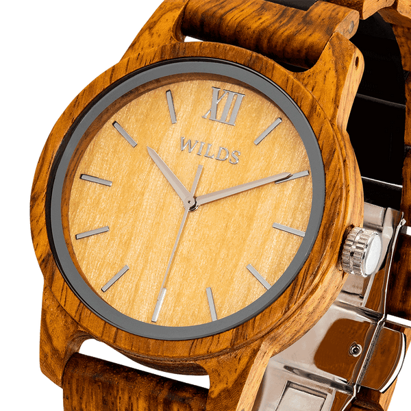 Handcrafted Ambila Wooden Watch