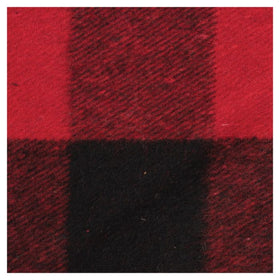 Plaid 50/50 Blanket in Blue/Grey or Red/Black By Peregrine