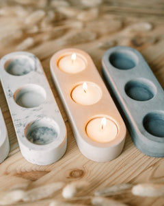 Candle Holder - Marble
