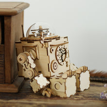 Load image into Gallery viewer, DIY Puzzle Kit Robot-shape Music Box Orpheus