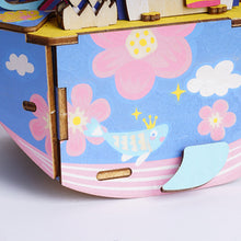 Load image into Gallery viewer, DIY Colorful Music Box for Girls