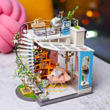 Load image into Gallery viewer, Wooden DIY Dollhouse Model Kits(Dora's Loft)
