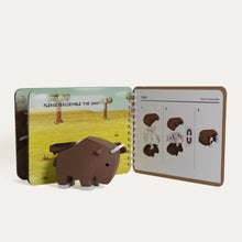 Load image into Gallery viewer, Magnetic Assembly Toy Set (Gnu)