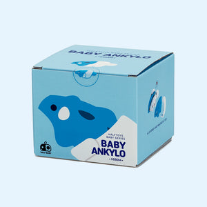 Magnetic Assembly Dinosaur - Cradle Baby Ankylo