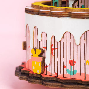 DIY Colorful Music Box for Girls