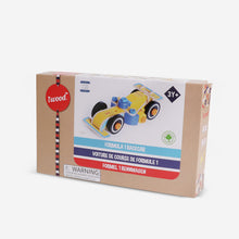 Load image into Gallery viewer, Wooden Building Toy Car - Jeep/ F1 Race car