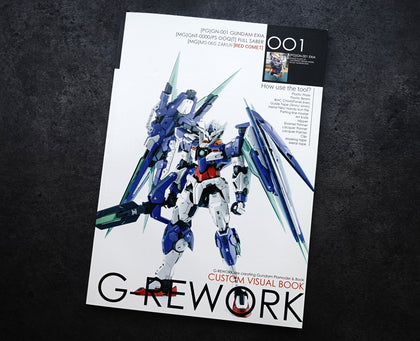 G-Rework Custom Visual Book 001 - Trinity Hobby