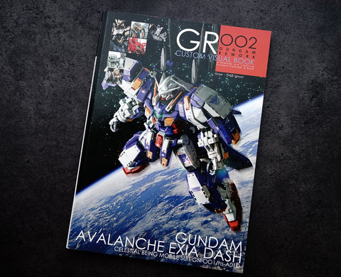 G-Rework Custom Visual Book 002 - Trinity Hobby