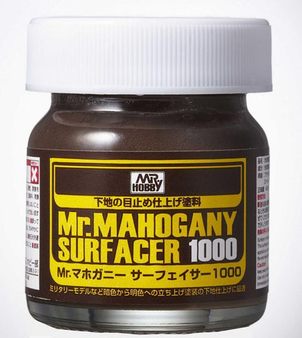 Mr Hobby: Mr Mahogany Surfacer 1000 - Trinity Hobby
