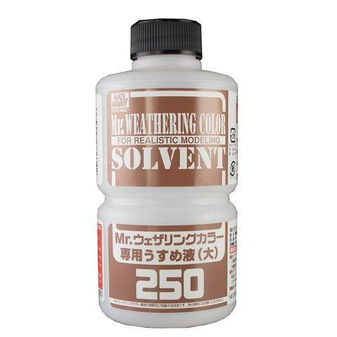 Mr Hobby: WEATHERING COLOR THINNER 250ml - Trinity Hobby