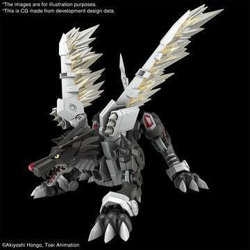 Bandai: [Pre-Order] Figure-rise Standard Amplified Black Metalgarurumon (ETA July/Aug) - Trinity Hobby