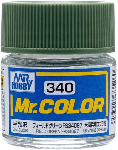 Mr. Color 340 Field Green FS34097 (Semi-Gloss/Aircraft)
