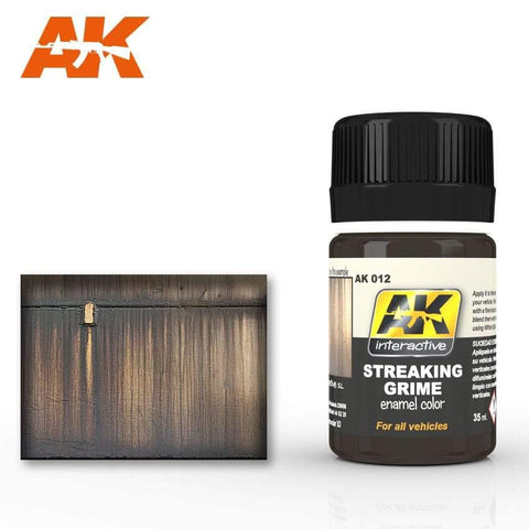 AK Interactive: AK Interactive Streaking Grime General - Trinity Hobby