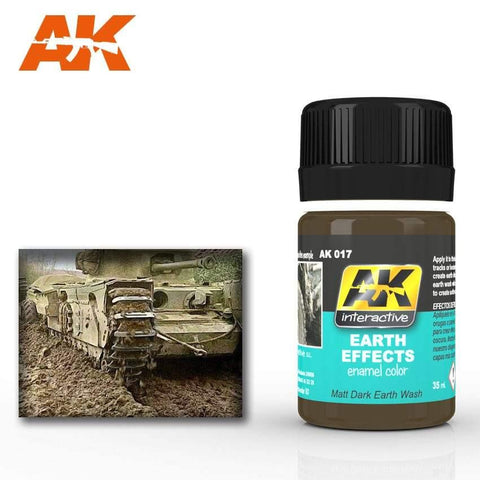 AK Interactive: AK Interactive Earth Effects - Trinity Hobby