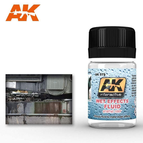 AK Interactive: AK Interactive Wet Effects Fluid - Trinity Hobby