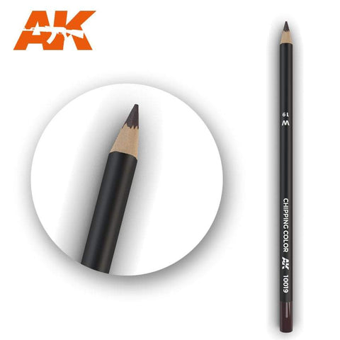 AK Interactive: AK Interactive Watercolor Pencil Chipping Color - Trinity Hobby