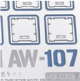 Madworks AW-107 Detail-Up Parts