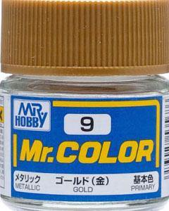 Mr Hobby: Mr. Color 9 - Gold (Metallic/Primary) - Trinity Hobby