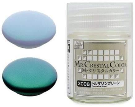 Mr Hobby: Mr Crystal Color - Tourmaline Green - Trinity Hobby