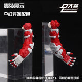 Dalin: DL MG Fully Articulated Hands (Grey) - Trinity Hobby