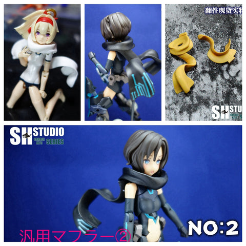 SH Studio Megami Device/Frame Arms Girl Tactical Scarf (V2)