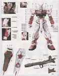 PG Astray Red Frame Water Decal