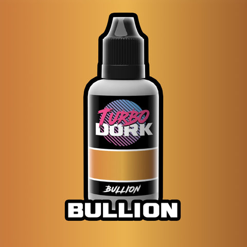 Turbodork: Bullion Metallic Acrylic Paint 20ml Bottle - Trinity Hobby
