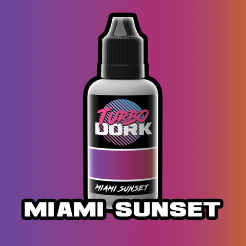 Turbodork: Miami Sunset Turboshift Acrylic Paint 20ml Bottle - Trinity Hobby