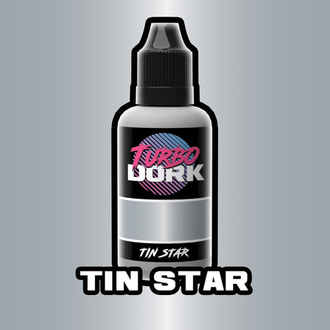 Turbodork: Tin Star Metallic Acrylic Paint 20ml Bottle - Trinity Hobby