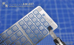 Madworks: Madworks AW-037 Detail-Up For Thruster Nozzles - Trinity Hobby