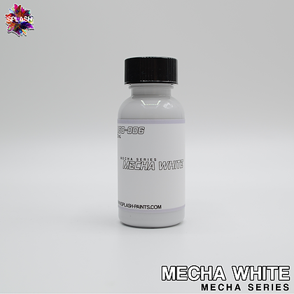 Splash Paint: Splash Paint Mecha White - Trinity Hobby