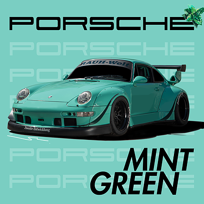 Splash Paint: Splash Paint Porsche Mint Green - Trinity Hobby