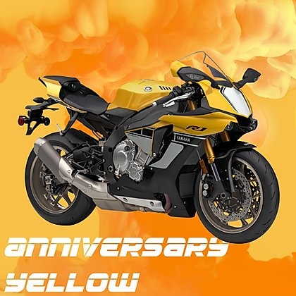 Splash Paint: Splash Paint Yamaha Anniversary Yellow - Trinity Hobby