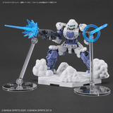Bandai: CUSTOMIZE EFFECT (GUNFIRE IMAGE Ver.) [BLUE] - Trinity Hobby
