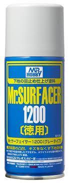 Mr Hobby: Mr Finishing Surfacer 1200 Gray (Aerosol Type) - Trinity Hobby
